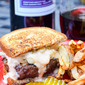 Grilled Reuben Burgers #SummerBurgers