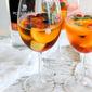 Making White Peach Sangria with Polar Ice Ontario Peach Vodka