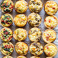 Mini Quiche 4 Ways