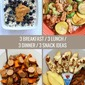 Recent Eats: Breakfast / Lunch / Dinner / Snack Ideas (x3!)