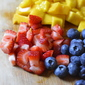 #summerdessertweek frozen fruit cupcakes