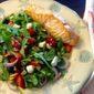 Salmon, Berry and Feta Salad