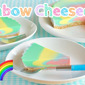 NO BAKE Rainbow Soymilk Cheesecake (appetizing pastel color) - Video Recipe