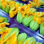 Zucchini BLOSSOM Chickpea flour FRITTERS Gluten free