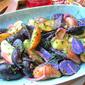Purple Potato Salad w/ Mustard Vinaigrette