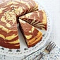 Zebra Butter Cake 斑马线牛油蛋糕