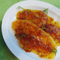Pan-Fried Flounder with Apricot-Honey Sauce