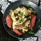Rib Eye Steak and Mushroom Risotto