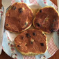 Avocado and Blueberry Pancakes