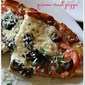 Easy Skillet Stove Top Personal Size Pizza
