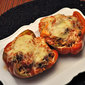 Traditional Stuffed Red Peppers