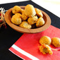Savory Little Appetizers ~ Cheese-wrapped Olive Bites