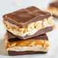 Homemade Snickers Bars