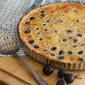 Plum Delicious: Damson Plum Custard Tart