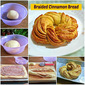 BRAIDED CINNAMON BREAD RECIPE