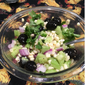 Corn , Cilantro, and Cucumber Salad with Creamy Lime Dressing