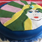 Lucy in the Sky with Diamonds Cake