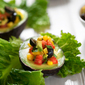 Stuffed Avocados with Corn and Olives
