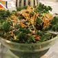 Kale Waldorf Salad with an Apple and Honey Citrus Dressing