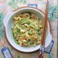Green Heirloom Tomatoes with Eggs - 青番茄炒蛋