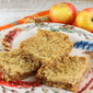 Apple Oatmeal Bars #AppleWeek