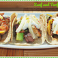 Easy Taco Recipes for National Taco Day #SundaySupper...Featuring Surf and Turf Tacos #NationalTacoDay