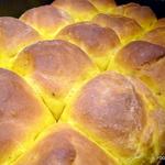 SQUASH rustic pull apart BREAD buns