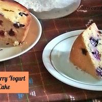 BLUEBERRY YOGURT CAKE RECIPE
