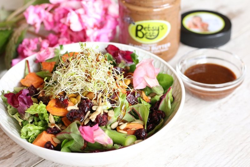 ALMOND BUTTER AND FIG DRESSING