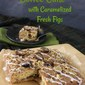 Fig and Walnut Coffee Cake Topped with Caramelized Figs