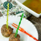 Easy Olive Tapenade Cocktail Party Meatballs