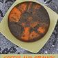 Coffee and Orange Halloween Cake