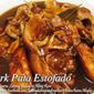 Pork Pata Estofado