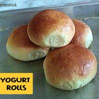 YOGURT ROLLS RECIPE