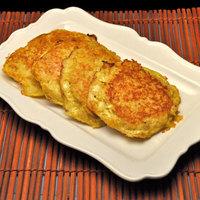 Shredded Potato Cakes; rainy day cleaning