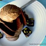light Chocolate Espresso Kahlua gelato