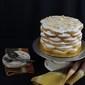 French Vanilla Cake with Banana Cream Cheese Frosting