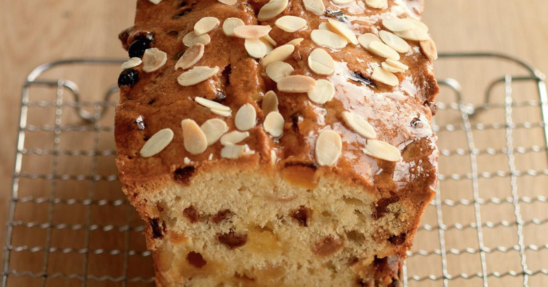 Chocolate Chip Marzipzn Loaf