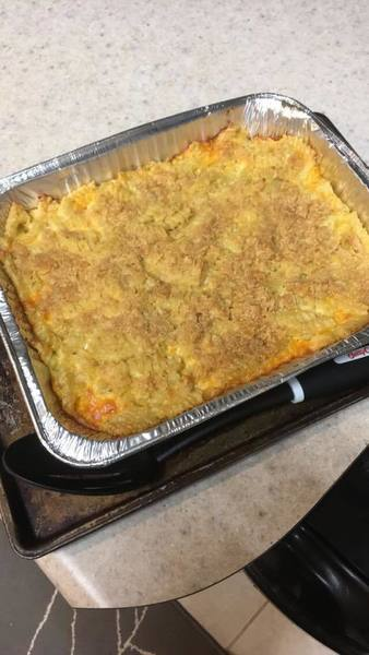 Grandma's Cheese Macaroni Casserole