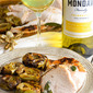 Roasted Turkey Breast with Balsamic Browned Butter Artichokes