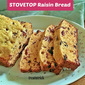 STOVETOP RAISIN BREAD RECIPE