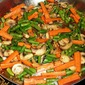 Green Bean, Carrot and Mushroom Medley