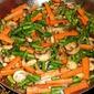 Green Bean, Carrot and Mushroom Medley