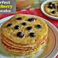 PERFECT BLUEBERRY PANCAKE RECIPE