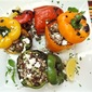 Lamb and Couscous Stuffed Bell Peppers