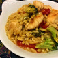Lemon Chicken Orzo with Broccoli and Tomato