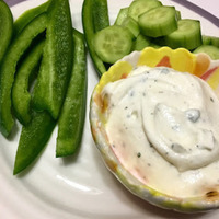 No Recipe Needed Ranch Dip