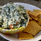 Lightened Up Spinach Dip