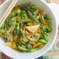 Lunar New Year Vegetarian Stir-Fry 年菜西兰花芦笋清炒鸿禧菇