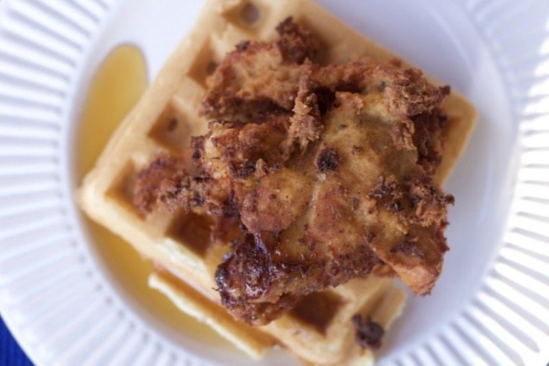 Weeknight Chicken and Waffles Recipe